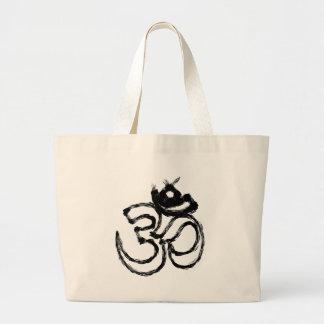 hindu large tote bag