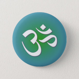 Hindu OM - Meditation Symbol 2 Inch Round Button