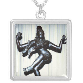 Hindu Shiva Sterling Silver Necklace