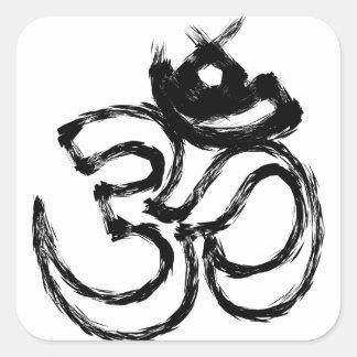hindu square sticker