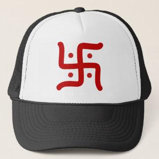 Hindu Swastika Trucker Hat