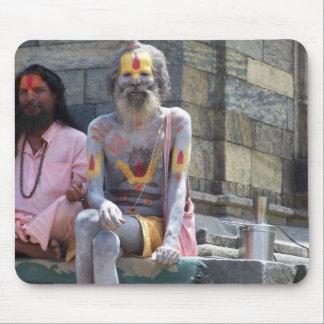 HINDU TEMPLE KATHMANDU NEPAL MOUSE PAD