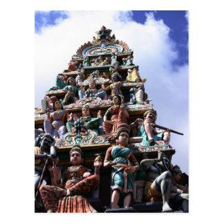 Hindu Temple Postcard