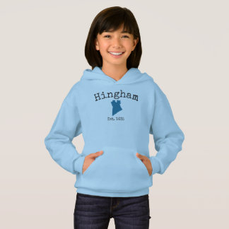 Hingham Massachusetts sweatshirt for girls, #3