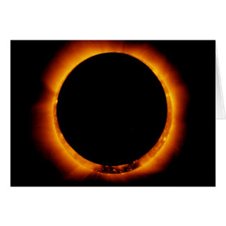 Hinode Observes an Annual Solar Eclipse Card