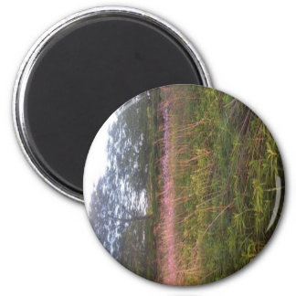 Hint Of Lavender 2 Inch Round Magnet