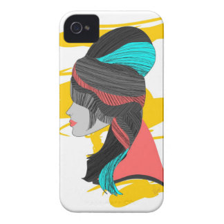 Hip Beehive iPhone 4 Case