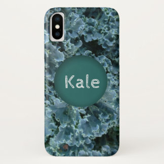 Hip Bright Green Kale Personalized iPhone Case