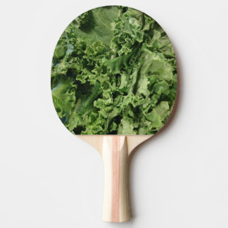 Hip Bright Green Vegan Kale Ping Pong Paddle