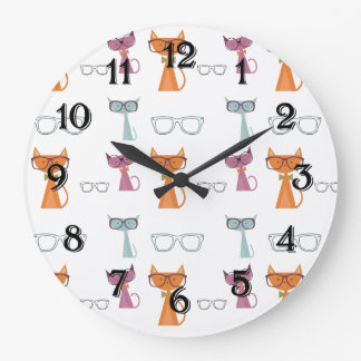Hip Cats Wallclocks