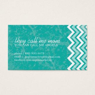 Hip Chevron Mommy Cards