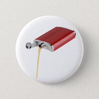 Hip flask 2 inch round button