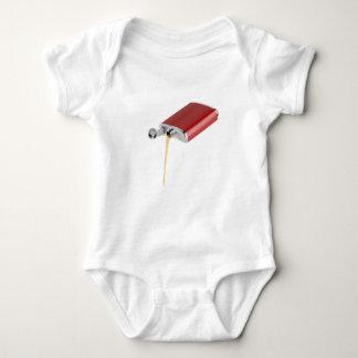 Hip flask baby bodysuit