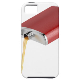 Hip flask case for the iPhone 5