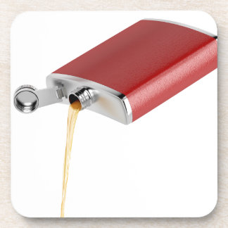 Hip flask coaster