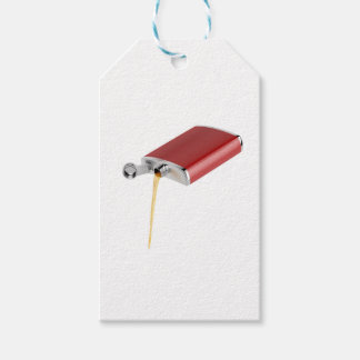 Hip flask gift tags
