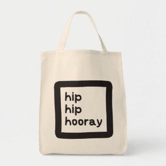 Hip Hip Hooray Dysplasia Awareness Tote Bag