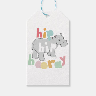 Hip Hip Hooray Gift Tags