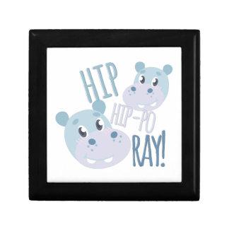 Hip Hip-po Ray Keepsake Box