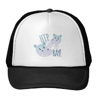 Hip Hip-po Ray Trucker Hat