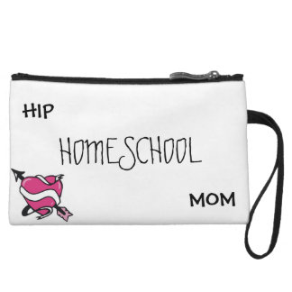 Hip Homeschool Mom Clutch Wristlets