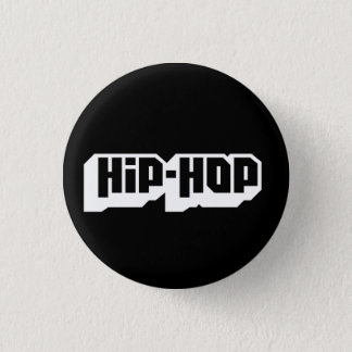 Hip-Hop 1 Inch Round Button