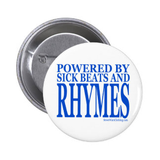 HIP HOP 2 INCH ROUND BUTTON
