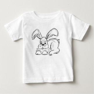 Hip Hop, A Bunny Rabbit Baby T-Shirt