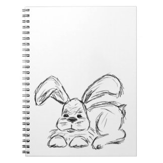 Hip Hop, A Bunny Rabbit Notebook