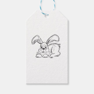 Hip Hop, A Bunny Rabbit Pack Of Gift Tags