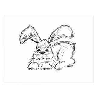Hip Hop, A Bunny Rabbit Postcard