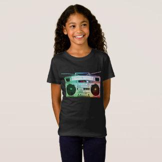 Hip Hop Boom Box Girls Dance Shirt