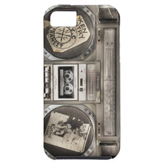Hip Hop Boom Box iPhone 5 Cases