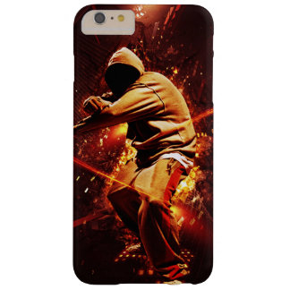hip-hop breakdancer on fire barely there iPhone 6 plus case