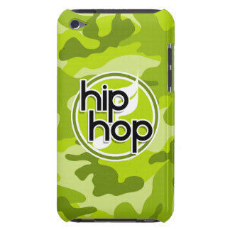 Hip Hop bright green camo camouflage iPod Touch Case-Mate Case