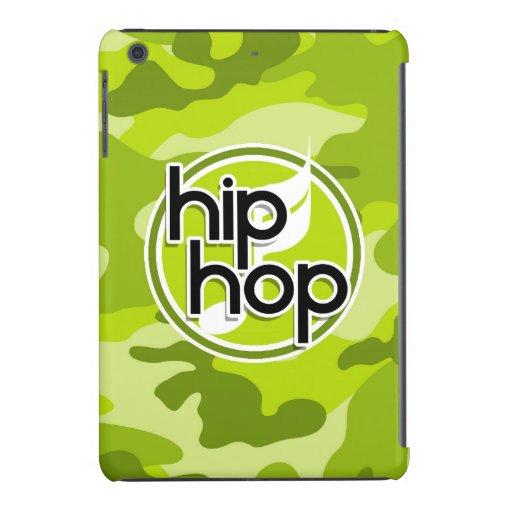 Hip Hop; bright green camo, camouflage iPad Mini Retina Cover
