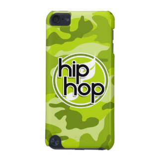 Hip Hop bright green camo camouflage iPod Touch 5G Case