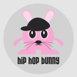 Hip Hop Bunny Stickers