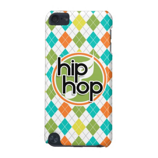 Hip Hop; Colorful Argyle Pattern iPod Touch (5th Generation) Covers