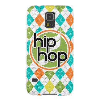 Hip Hop; Colorful Argyle Pattern Case For Galaxy S5