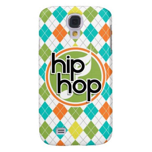 Hip Hop; Colorful Argyle Pattern Galaxy S4 Cases