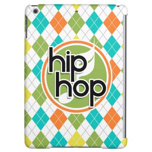 Hip Hop; Colorful Argyle Pattern iPad Air Cases
