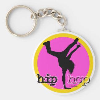 HIP HOP Dance moves Basic Round Button Keychain
