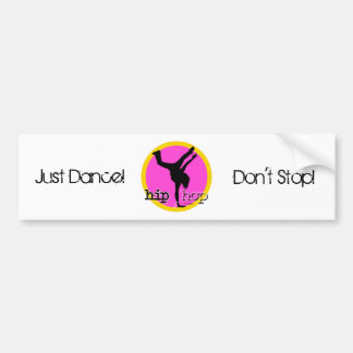 HIP HOP Dance moves Bumper Sticker