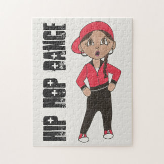 Hip Hop Dance Teacher Choreographer Hiphop Girl Jigsaw Puzzle