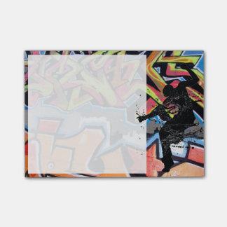 Hip Hop Dancer Graffiti Post-it Notes