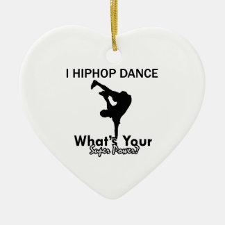 Hip Hop dancing designs Christmas Tree Ornaments