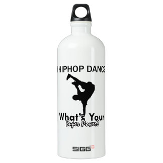 Hip Hop dancing designs Water Bottle
