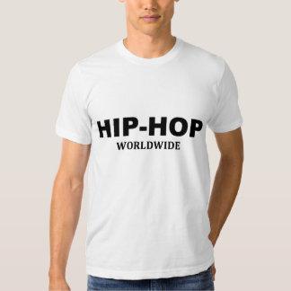 Hip-hop dans le monde entier t-shirts