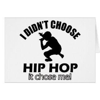 Hip Hop designs Card